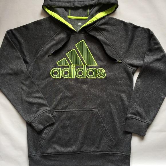 brand new daa54 ffda0 Adidas Other - Mens Adidas Performance Tech Hooded Sweatshirt