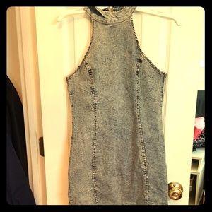 New Look Dresses & Skirts - New Look Denim Stretch Halter Dress