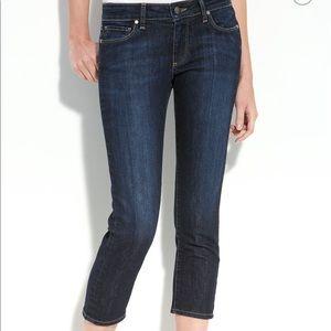 Denim - Paige Roxbury Crop Jeans