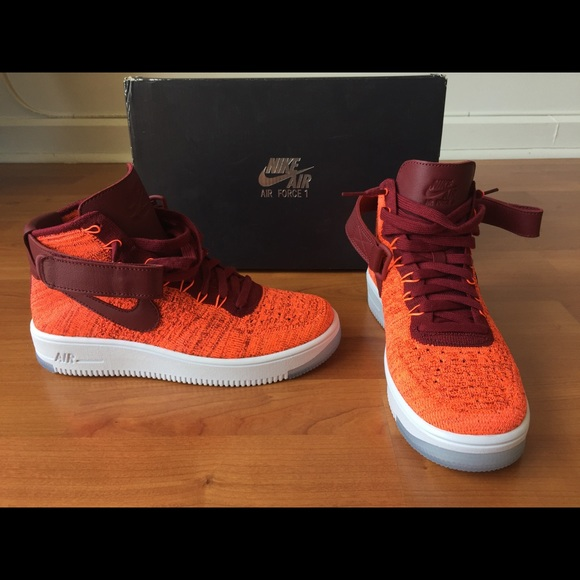 fe27f5fae3c9 New Nike Air Force 1 Fly Knits
