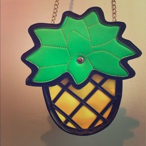 Handbags - Pineapple Crossbody Bag