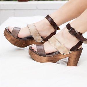 Bed Stu Shoes - Sophie Brown Sand Bedstu Heels