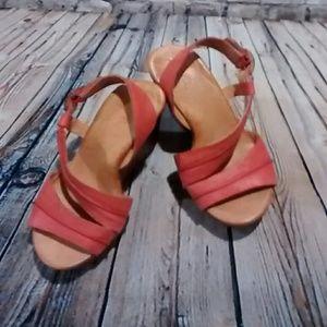 Shoes - 6/$30 Naya shoes 8.5 coral.