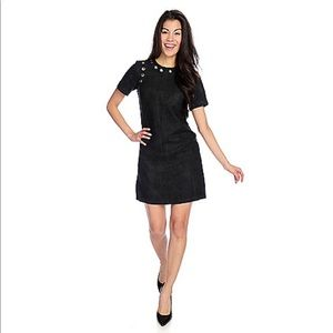 Dresses & Skirts - Suede Rivet Tee Dress
