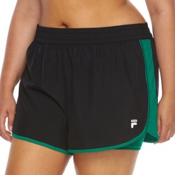 8752f4512ff8 CCO Sale Plus Size Fila Eclipse Running shorts