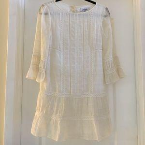 Tibi Cream Dress