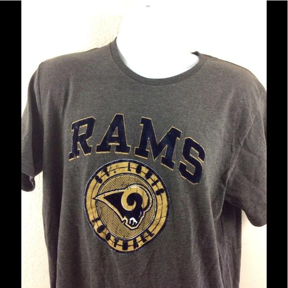Los Angeles Rams Women's Ralph Long Sleeve T-Shirt - Navy ... |Nfl Rams Clothing
