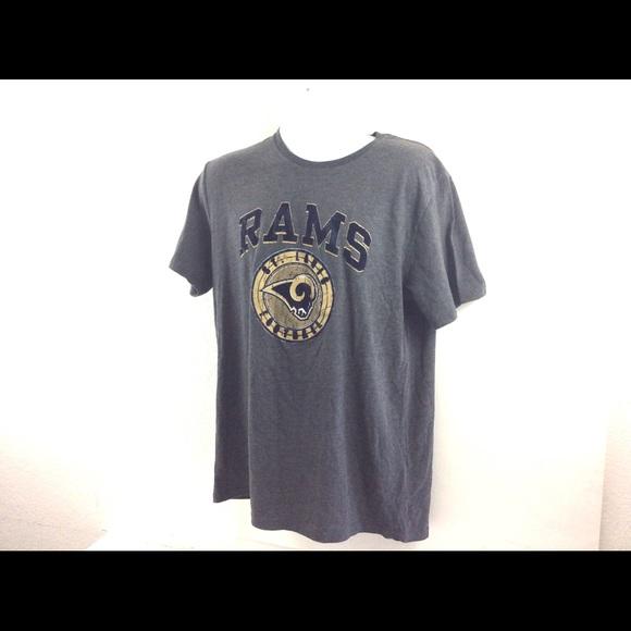 Los Angeles Rams '47 Gold '47 NFL Retro Logo Scrum T-Shirt ... |Nfl Rams Clothing