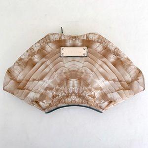 Alexander McQueen Handbags - Alexander McQueen De Manta satin clutch