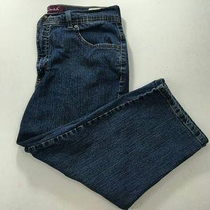 Gloria Vanderbilt Denim - ❤Gloria Vanderbilt Womens  Capri Jeans Size 12 EUC