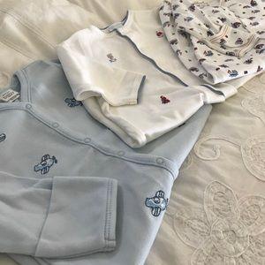 Kissy Kissy Other - EUC High End Baby Boy Sleep Gowns x3