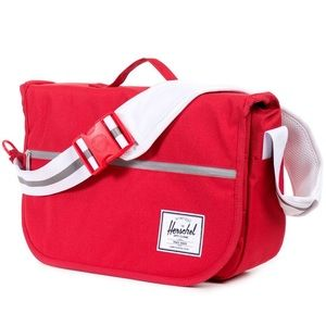 Herschel Supply Company Other - Herschel Pop Quiz Red 13L Laptop Messenger Bag