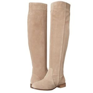 Seychelles Shoes - Seychelles Herd over the knee boots suede thigh 8