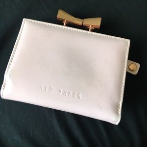 Baker by Ted Baker Handbags - 👛Authentic TED BAKER PINK/ROSE GOLD BOW WALLET👛