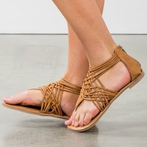 Shoes - CHANTELLE spring sandal - TAN