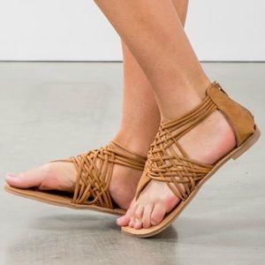 CHANTELLE spring sandal - TAN