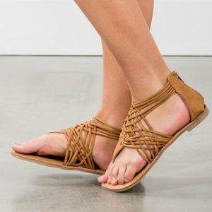 Shoes - CHANTELLE spring sandal - TAN
