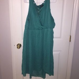 Adorable high low sleeveless dress