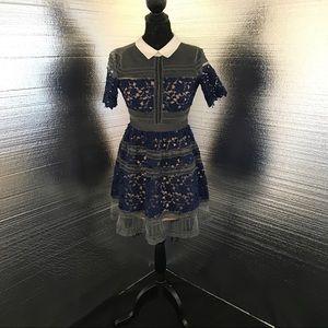 Self Portrait Dresses & Skirts - Super cute Self-Portrait look alike lace dress