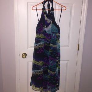 Evening halter dress