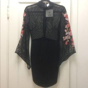 LF Dresses & Skirts - LF Embroidered Mini Dress