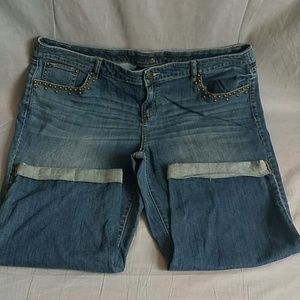Apt. 9 Pants - APT.9 Capris Pants Plus Size 18 W Staight Leg