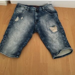 Zara Other - Ripped Acid Wash Shorts. About a 32-33 waist