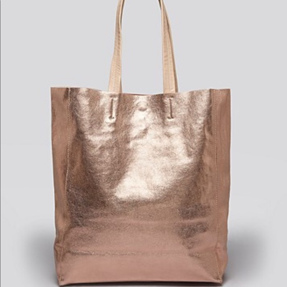 be4f5b90a287 ROSE GOLD TOTE by BLOOMINGDALES