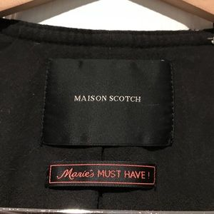 Maison Scotch Jackets & Coats - Madison Scotch tweed and tassel blazer