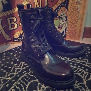 Shoes - Oxblood Combat boots