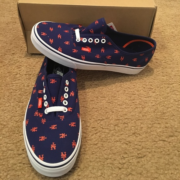 7265e2191364 Vans Authentic MLB New York Mets Sneakers