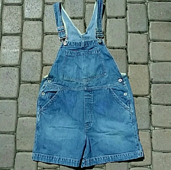 1d5e23feb62d GAP Shorts | Vintage 90s Denim Overalls | Poshmark