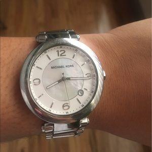 Michael Kors Silver Link Watch