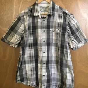 James Campbell Other - Men's short sleeve collared button down XL
