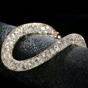 Jewelry - Yellow Gold Plated Mesh Bracelet