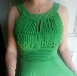 sangria  Dresses & Skirts - Sangria Emerald Green Swing Dress sz 8