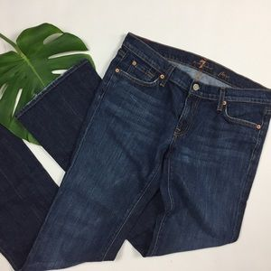 7 For All Mankind Denim - 7 for all Mankind 🌎 ladies 32 x 32 dark flare