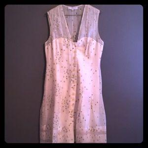 Carolina Herrera Dresses & Skirts - Carolina Herrera Floral Embroidered Spring Dress-