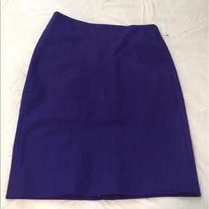 J.Crew purple No. 2 pencil skirt. Sz 4