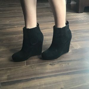 HM Faux Suede Booties