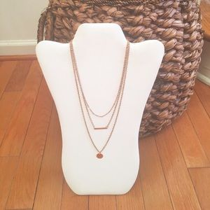 Urban Sweetheart Jewelry - Gold Bar Necklace