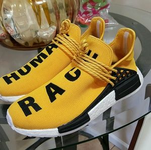 Pharrell x adidas NMD Hu PW Human Race Yellow Men's Size 6