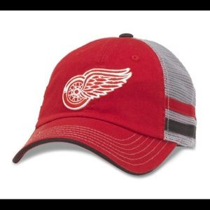 American Needle Other - Classic Detroit Red Wings Cap in Foundry Grey
