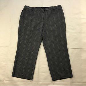 "Tweed Striped Dress Pants 曆 33"" Inseam"
