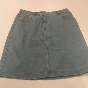 Denim & Co Dresses & Skirts - Denim &Co Jean Skirt