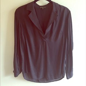 James Perse Tops - James Perse Relaxed Collared Shirt