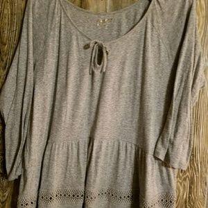 Arizona 3/4 sleeve top xxl