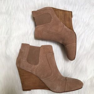 Sole Society Shoes - Wedge Booties