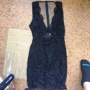 Gorgeous TOBI Lace Sleeveless Dress size S