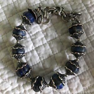 Chelsea Row Jewelry - Gorgeous Chelsea Row Lapis Bead Bracelet